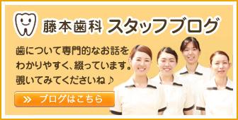 藤本歯科スタッフブログはこちら